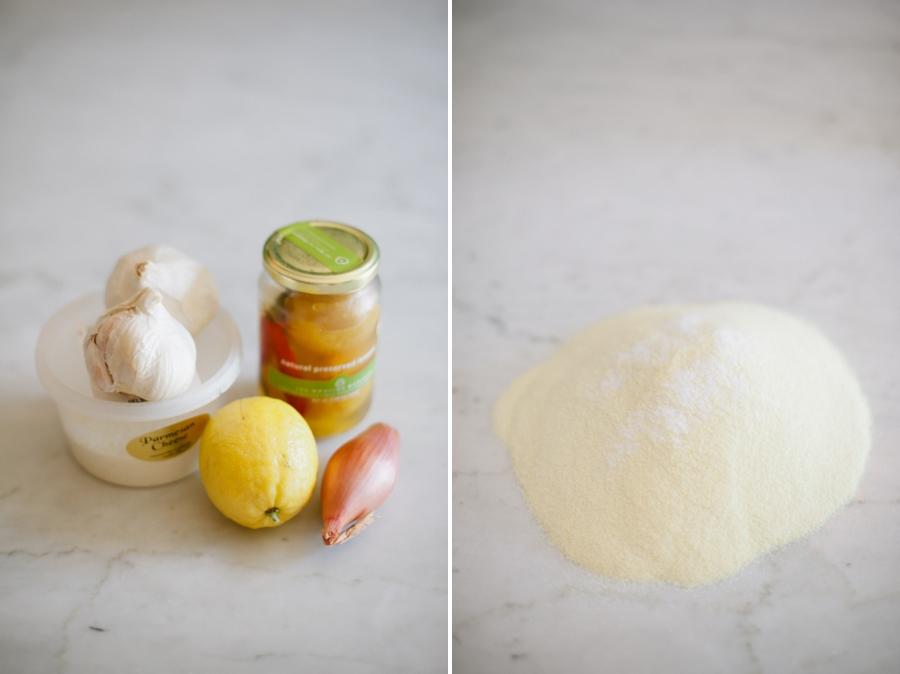 pasta 019 Fettucine with Preserved Lemon & Roasted Garlic