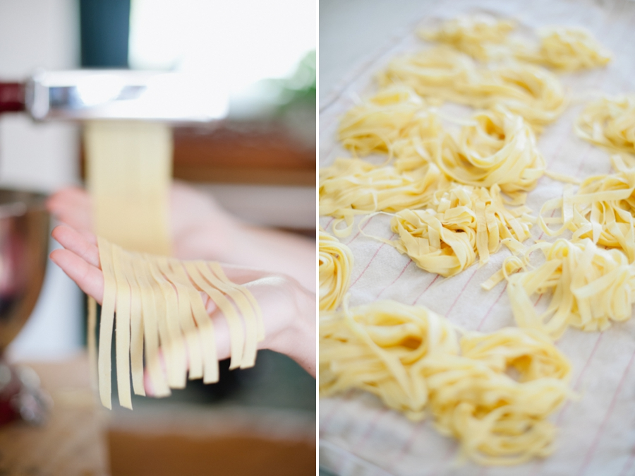 pasta 023 Fettucine with Preserved Lemon & Roasted Garlic
