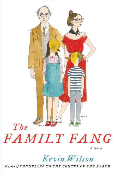 The Family Fang Flipping Pages: The Family Fang