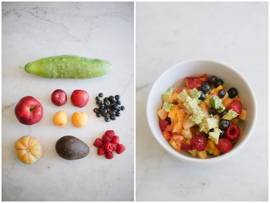 Garden Salad 0001 Summer Garden Salad