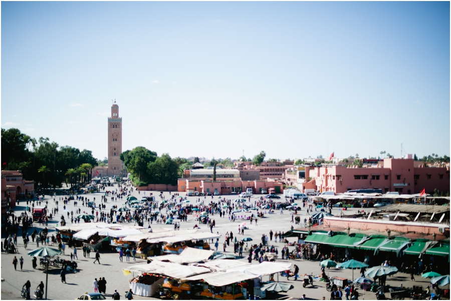 Morocco 0001 Wandering Through Marrakech